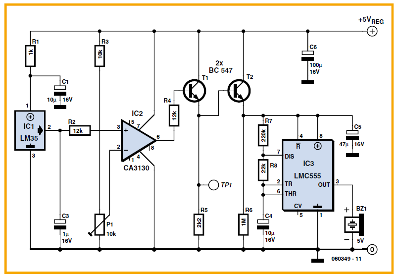 Sound Activated Switch Schematic Circuit Diagram