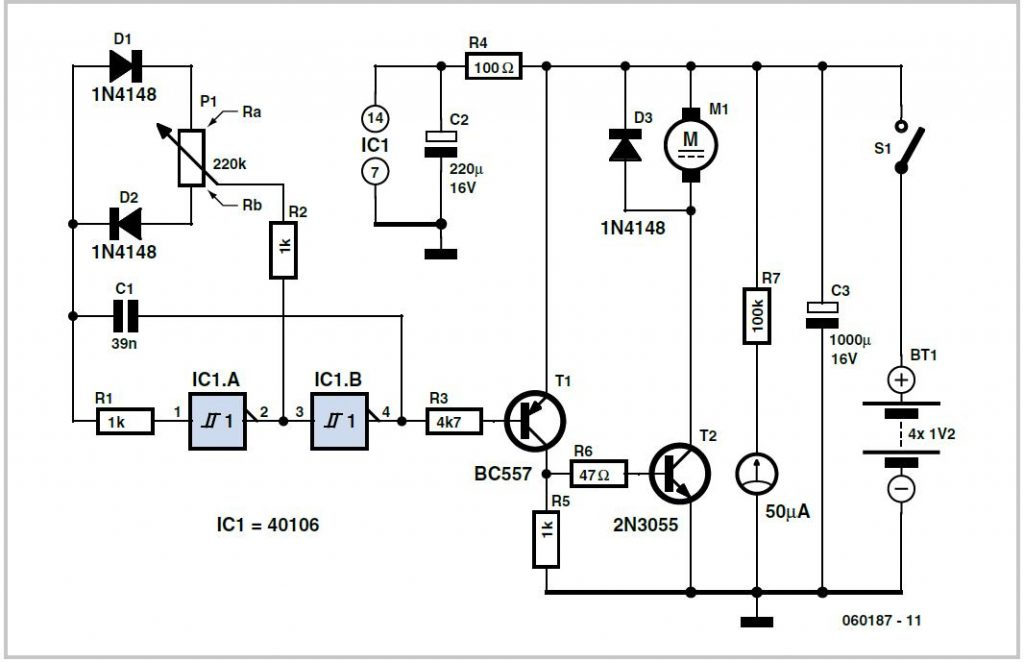 Five-output Video Distribution Amplifier Schematic Circuit Diagram