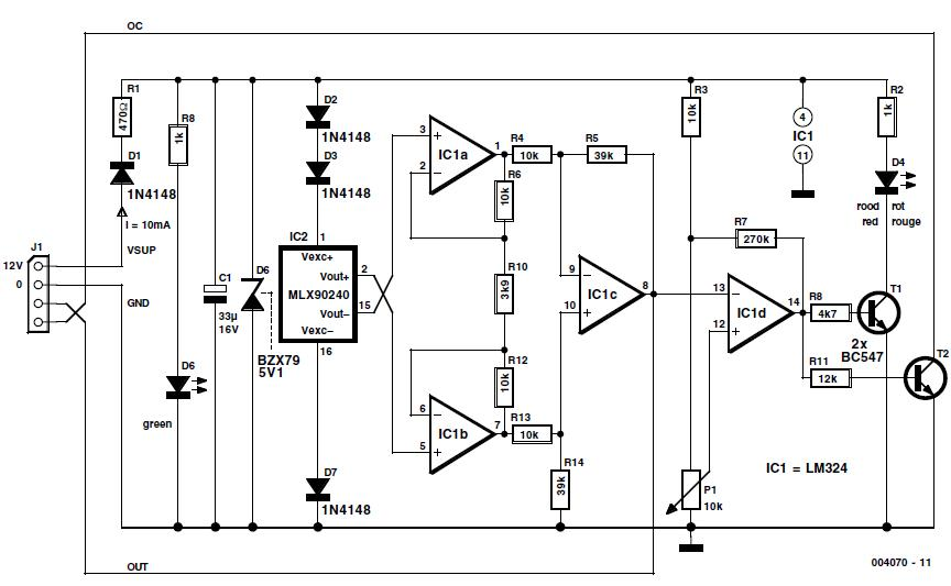 Pressure Switch Schematic Circuit Diagram