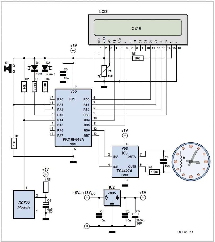 Frequency Divider with 50% Duty Cycle Schematic Circuit Diagram