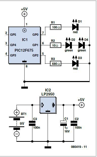 Solar-powered Uninterruptible PSU Schematic Circuit Diagram