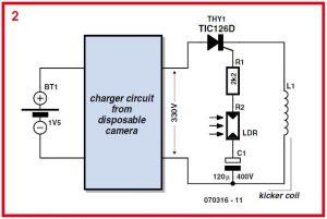 Robot Footballer Schematic Circuit Diagram 2