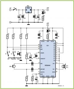 Robot Voice Schematic Circuit Diagram
