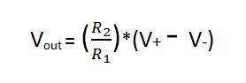 Schematic Circuit Diagram Op-Amp as Differential Amplifier Subtractor proteus simulation.