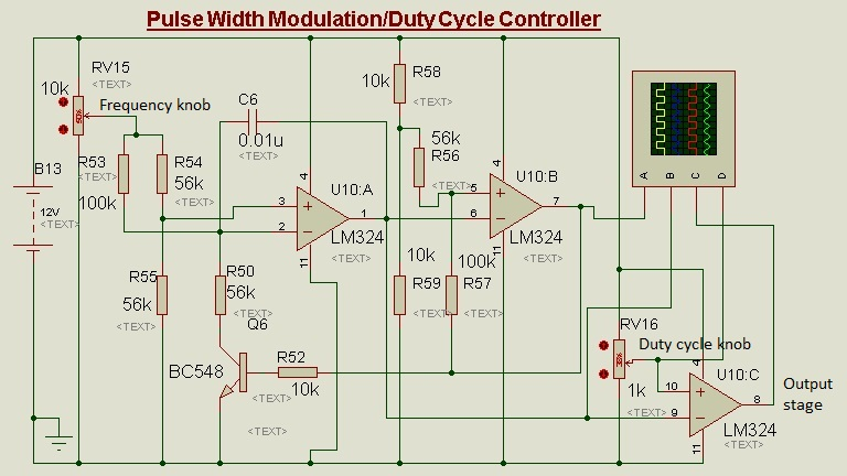 Op-Amp as Duty Cycle Controller