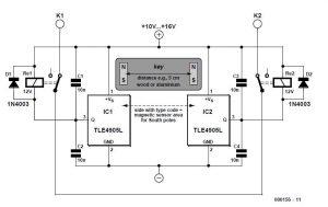 Secret Lock Schematic Circuit Diagram 1