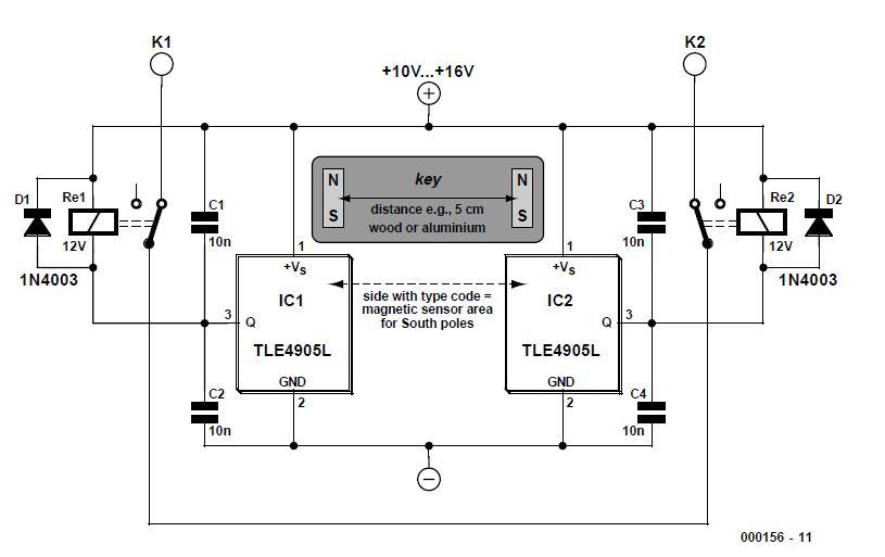 Active PC Loudspeaker Schematic Circuit Diagram