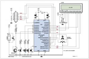 Simple Temperature Measurement and Control Schematic Circuit Diagram