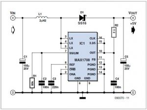 Economy Timer Schematic Circuit Diagram