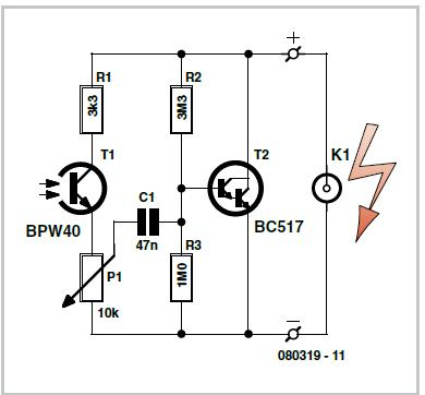 Bell Alarm Schematic Circuit Diagram