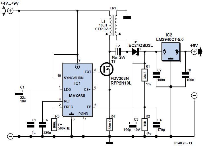 Bridge-Rectifier LED Indicator Schematic Circuit Diagram