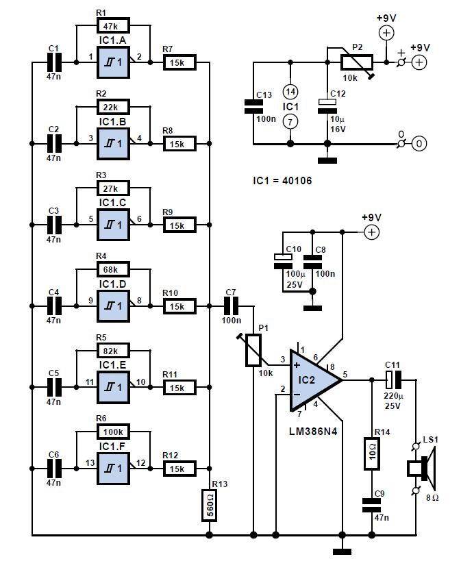 Steam Whistle Schematic Circuit Diagram
