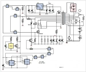 Tracking Solar Panel  Schematic Circuit Diagram