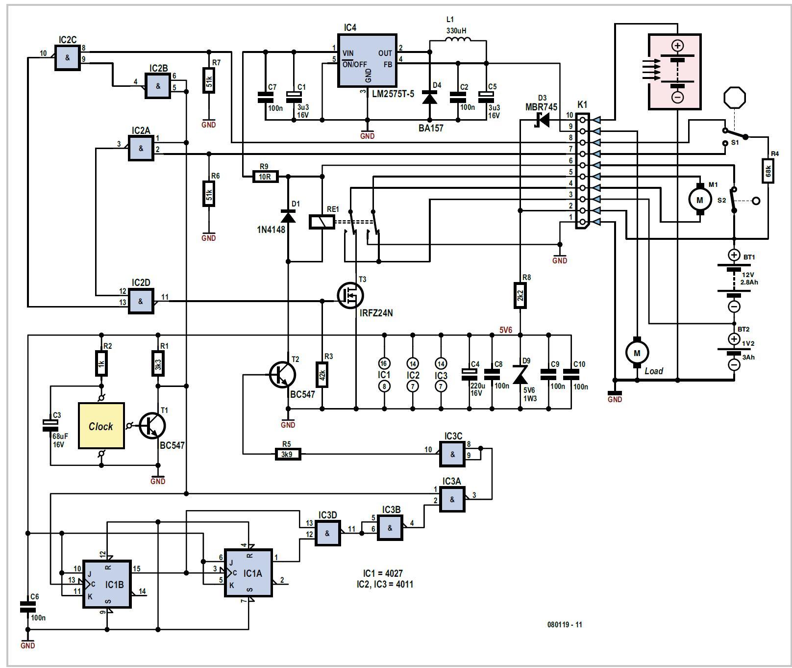 Tracking Solar Panel Schematic Circuit Diagram Wireless Doorbell