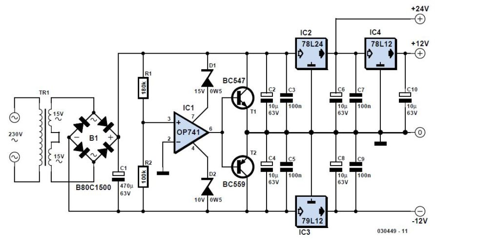 Simple NiCd Charger Schematic Circuit Diagram