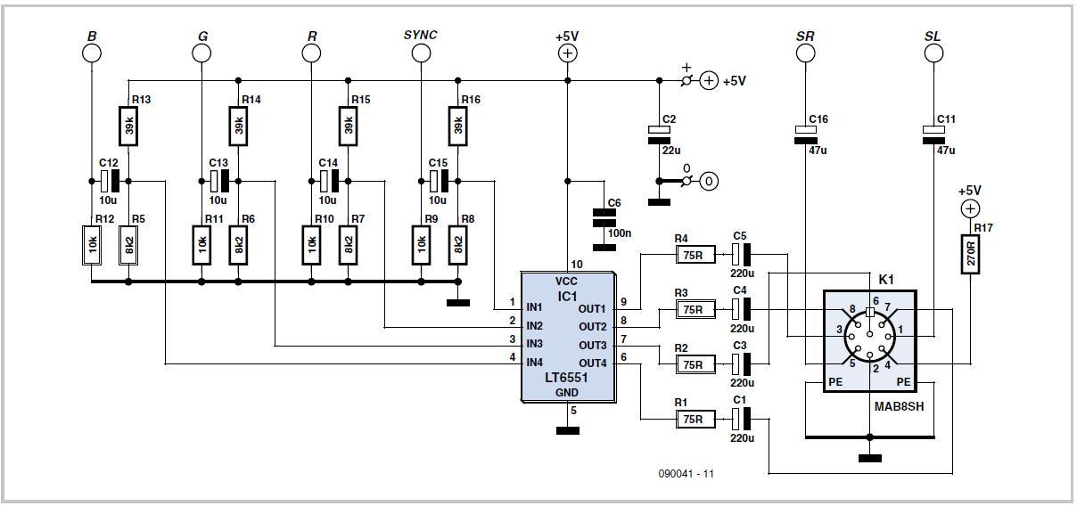 circuit diagram engine schematic turbografx 16  pc engine  rgb amplifier schematic circuit diagram  turbografx 16  pc engine  rgb amplifier