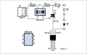 USB Standby Killer Schematic Circuit Diagram