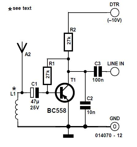 Very Wideband PC Radio Schematic Circuit Diagram 2