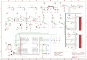 0-3A 0-30V POWER SUPPLY MCU POWER SOLID CIRCUIT SCHEMATICS 2