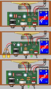 1W 2.5W AMPLIFIER CIRCUITS TDA7052 LM386 LM380N SCHEMATIC CIRCUIT DIAGRAM 2