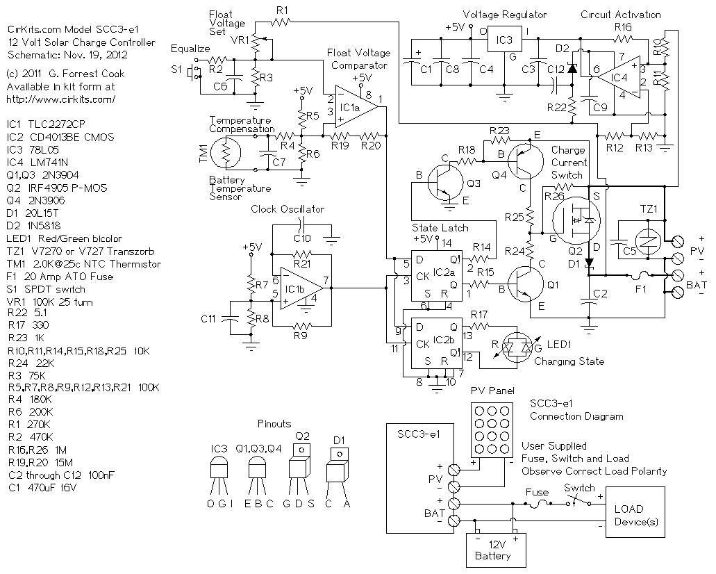 20 Amp Solar Charge Controller Features  Operation