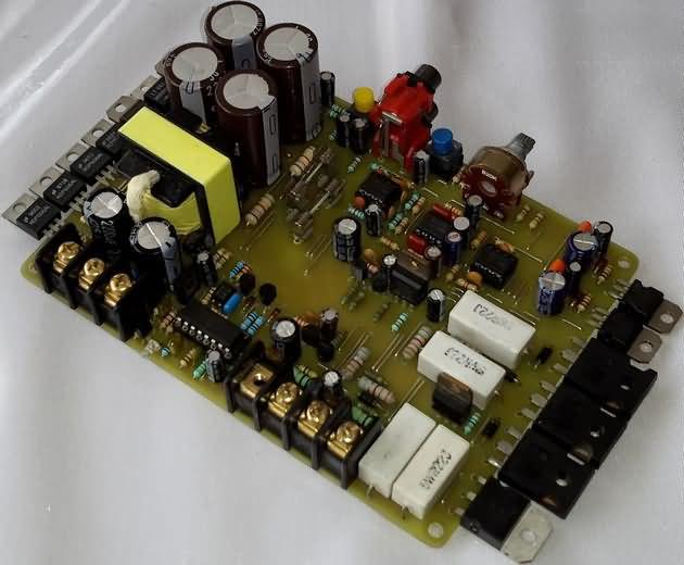 200W AUTO AMPLIFIER CIRCUIT TIP147 TIP142 TL494 EI33 DC DC ...