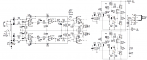 200W AUTO AMPLIFIER CIRCUIT TIP147 TIP142 TL494 EI33 DC DC SCHEMATIC CIRCUIT DIAGRAM 3