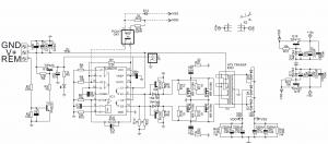 200W AUTO AMPLIFIER CIRCUIT TIP147 TIP142 TL494 EI33 DC DC SCHEMATIC CIRCUIT DIAGRAM 4