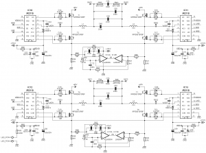 2X400W CLASS D AMPLIFIER DEVICE IR2110 SCHEMATIC CIRCUIT DIAGRAM