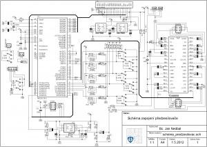 ATMEGA128 TDA9859 DIGITAL PREAMP CIRCUIT