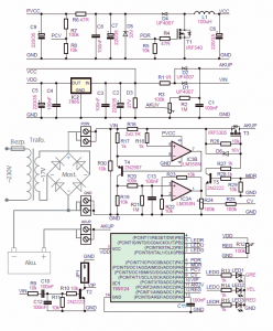 10AH 100AH ​​BATTERY CHARGING CIRCUIT (1A-10A ADJUSTABLE) SCHEMATIC CIRCUIT DIAGRAM