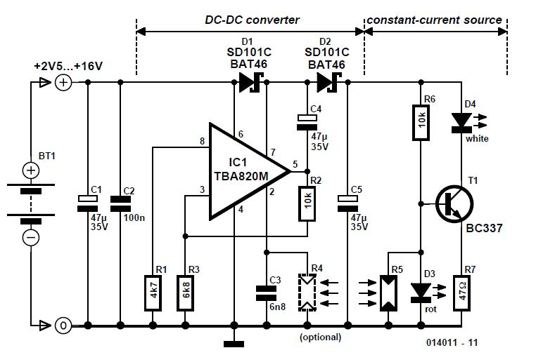 Battery Juicer Schematic Circuit Diagram