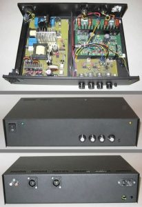 COMPLETED HIP4081A AMPLIFIER PROJECT 2
