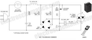 DIMMER CIRCUIT FOR 40W SOLDERING IRON SCHEMATIC CIRCUIT DIAGRAM 1