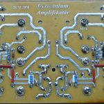 GERMANIUM TRANSISTOR AMPLIFIER AD161 AD162 SCHEMATIC CIRCUIT DIAGRAM 10