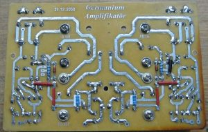 GERMANIUM TRANSISTOR AMPLIFIER AD161 AD162 SCHEMATIC CIRCUIT DIAGRAM 10