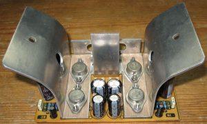 GERMANIUM TRANSISTOR AMPLIFIER AD161 AD162 SCHEMATIC CIRCUIT DIAGRAM 17