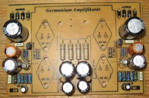 GERMANIUM TRANSISTOR AMPLIFIER AD161 AD162 SCHEMATIC CIRCUIT DIAGRAM 3