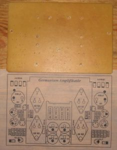GERMANIUM TRANSISTOR AMPLIFIER AD161 AD162 SCHEMATIC CIRCUIT DIAGRAM 7