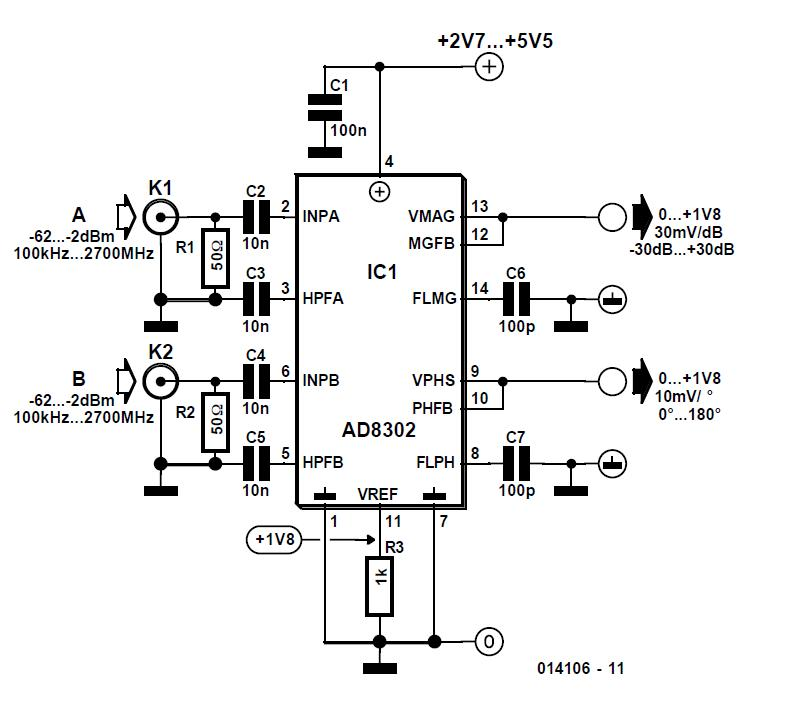 Switchable Crystal Oscillator Schematic Circuit Diagram