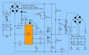 Wide Range DC Power Supply -  3U 15kW SCHEMATIC CIRCUIT DIAGRAM