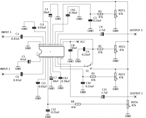 IRS2092 CLASS D AMPLIFIER CIRCUIT DIAGRAM LM1036 PREAMPLIFIER CIRCUIT DIAGRAM 2