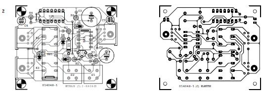 Keyboard over Mouse Switch Unit Schematic Circuit Diagram 2