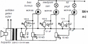 LIGHT MODULATOR SCHEMATIC CIRCUIT DIAGRAM