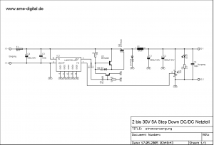 LM2576 LM2575 INCREASE OUTPUT POWER MOSFET 5A 8A SCHEMATIC CIRCUIT DIAGRAM