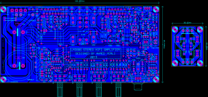 LM3886 STEREO COMPLEX ANFI PROJECT SCHEMATIC CIRCUIT DIAGRAM 7