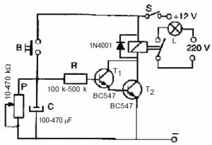 SIMPLE ELECTRONIC CIRCUIT SCHEMATIC CIRCUIT DIAGRAM