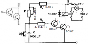 555 INTEGRATED SMALL POWER DC TO AC CONVERTER CIRCUIT SCHEMATIC CIRCUIT DIAGRAM