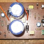 LOW COST REAL 20W QUALITY AMPLIFIER SCHEMATIC CIRCUIT DIAGRAM 7