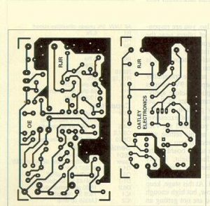 Laser Sound Printing Circuit Schematic Diagram